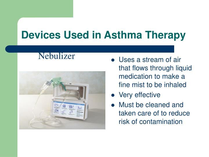 Devices Used in Asthma Therapy