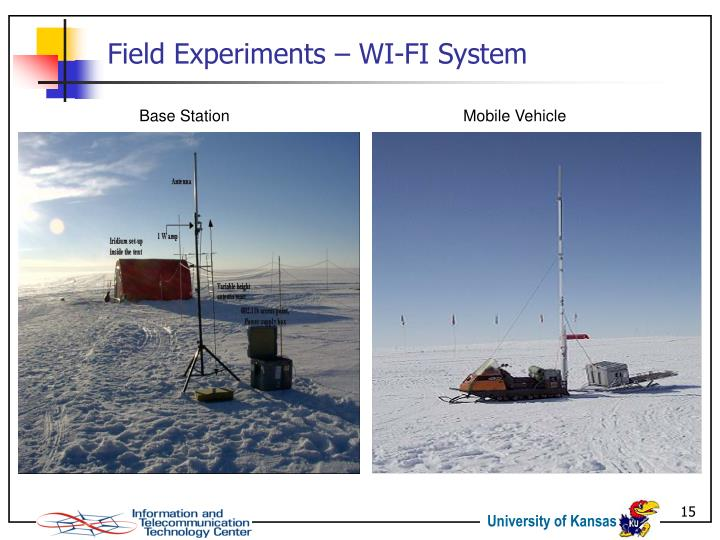 Field Experiments – WI-FI System