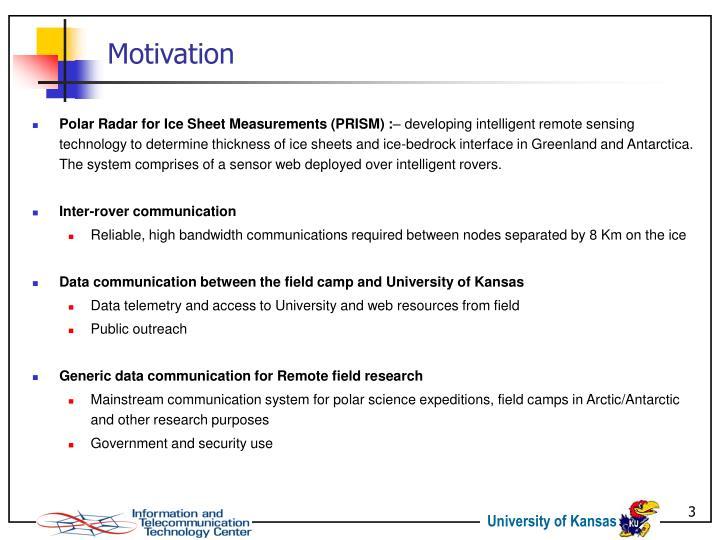 Polar Radar for Ice Sheet Measurements (PRISM) :
