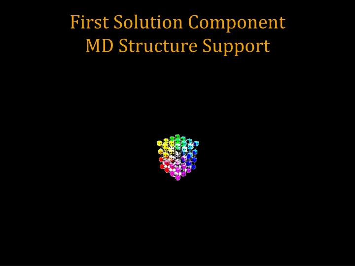 First Solution Component