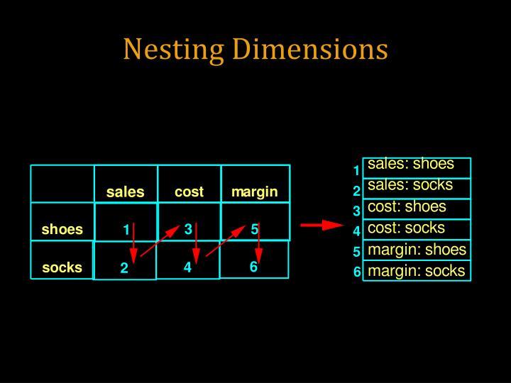 Nesting Dimensions