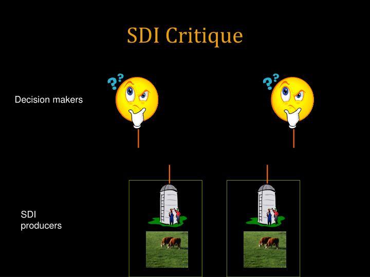 SDI Critique