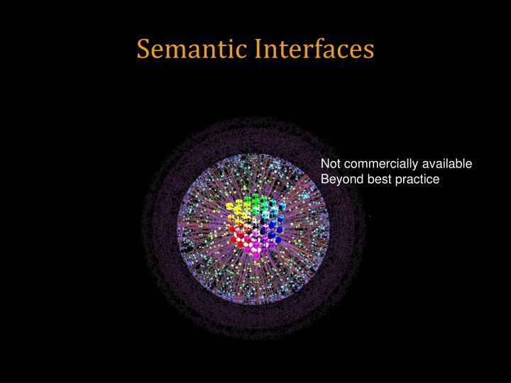 Semantic Interfaces