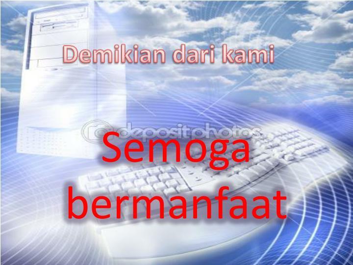 Demikian