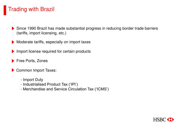 Trading with Brazil