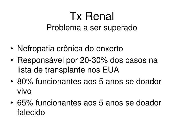 Tx Renal