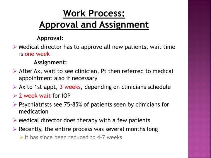 Work Process: