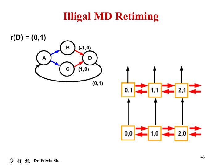 Illigal MD Retiming