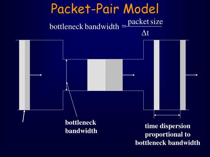 Packet-Pair Model