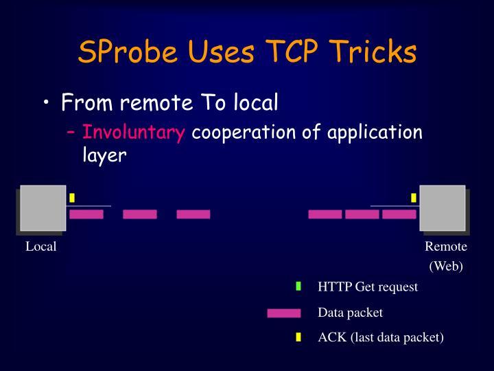 SProbe Uses TCP Tricks