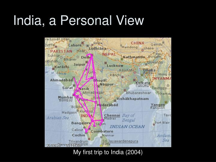 India, a Personal View
