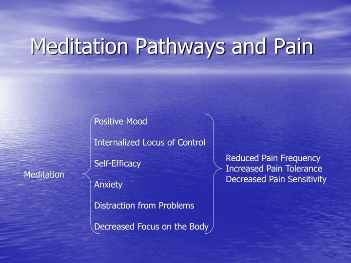 Meditation Pathways and Pain
