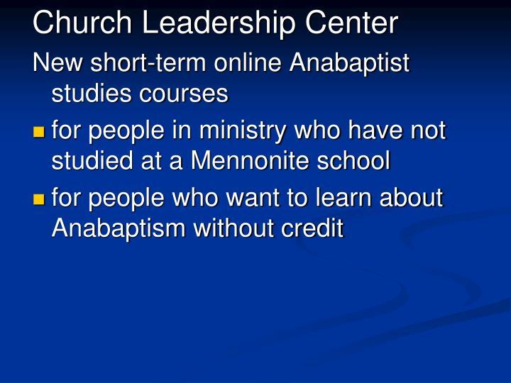 Church Leadership Center