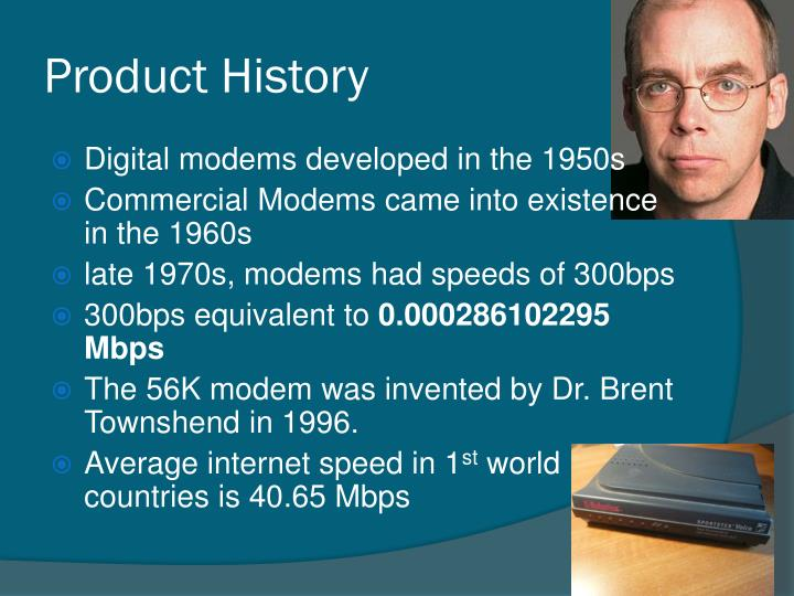 Product History
