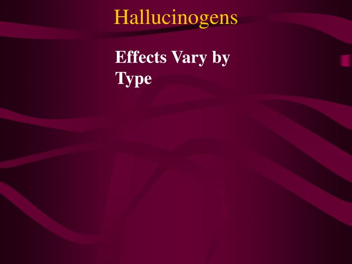 Effects Vary by Type