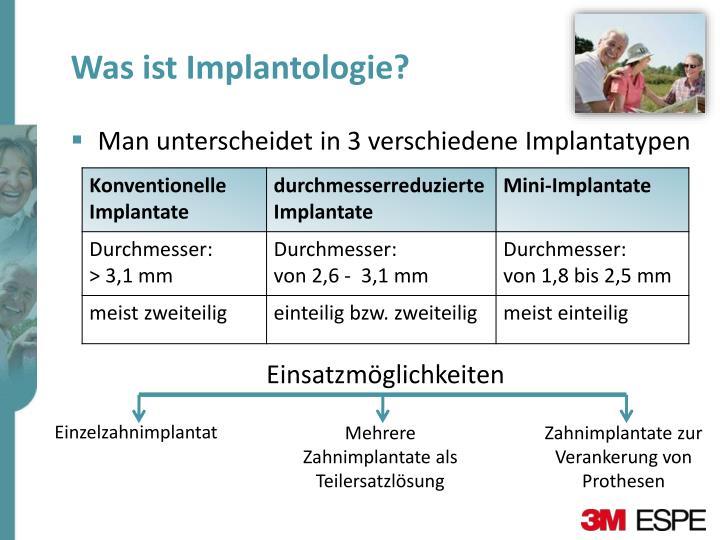 Was ist Implantologie?