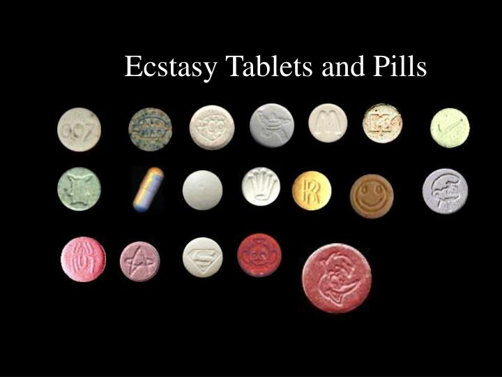 Ecstasy Tablets and Pills