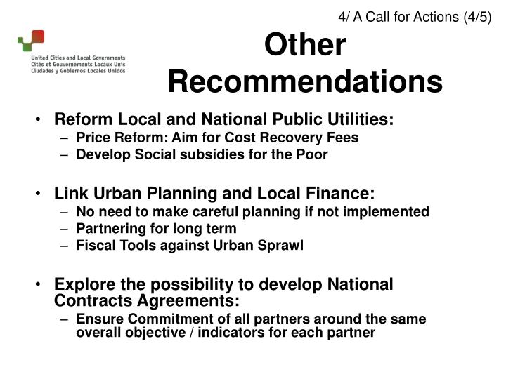Reform Local and National Public Utilities: