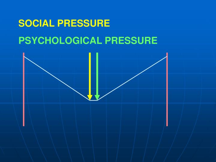 SOCIAL PRESSURE