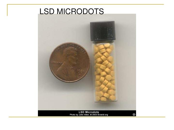 LSD MICRODOTS