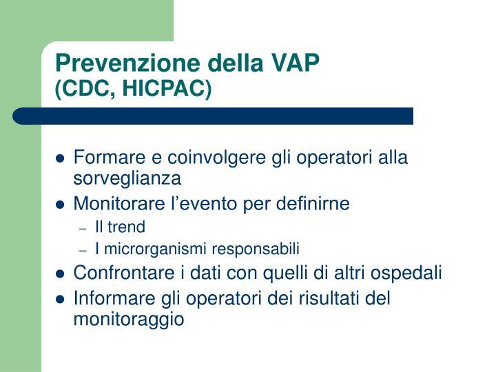 Prevenzione della VAP