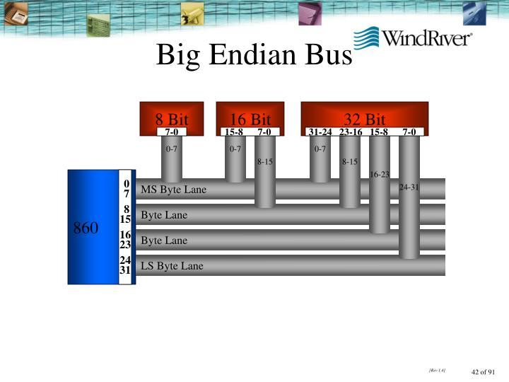 Big Endian Bus
