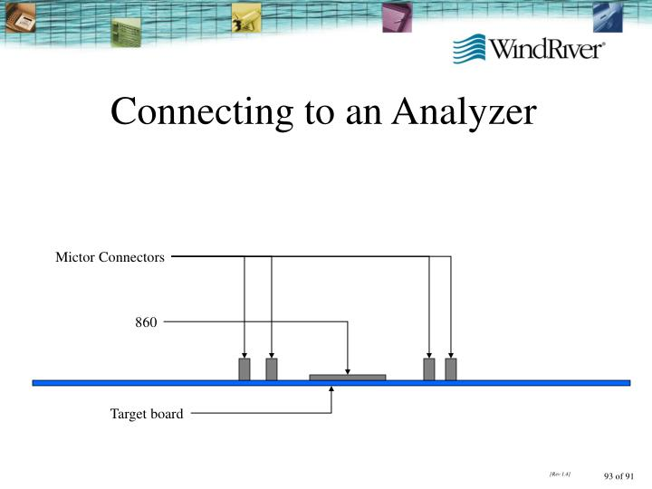 Connecting to an Analyzer