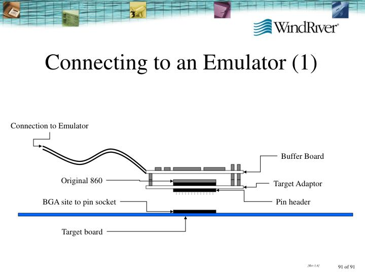 Connecting to an Emulator (1)