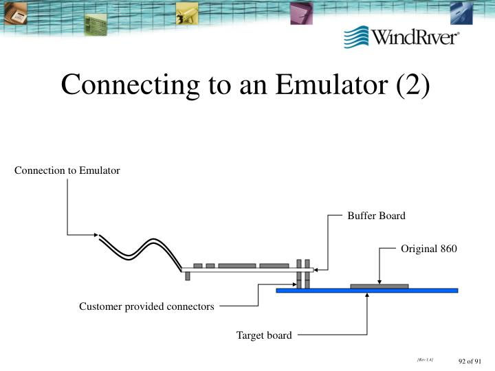 Connecting to an Emulator (2)
