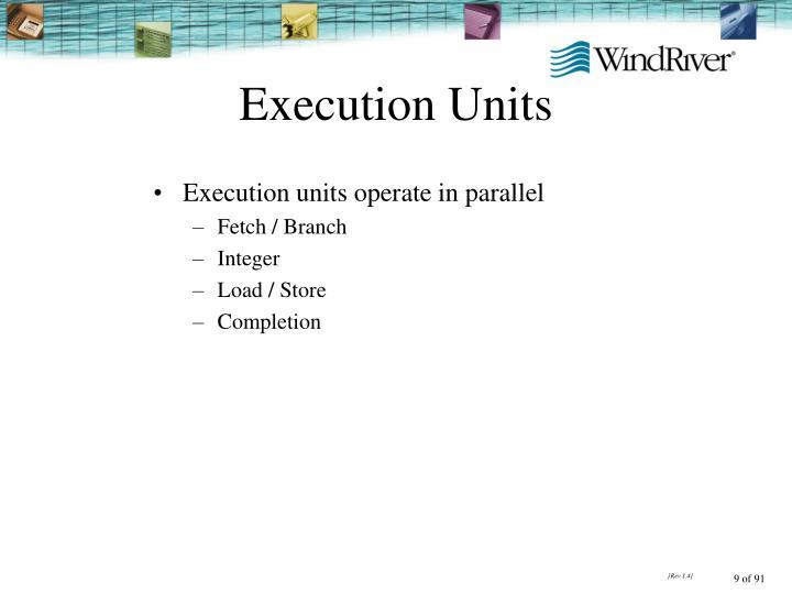 Execution Units