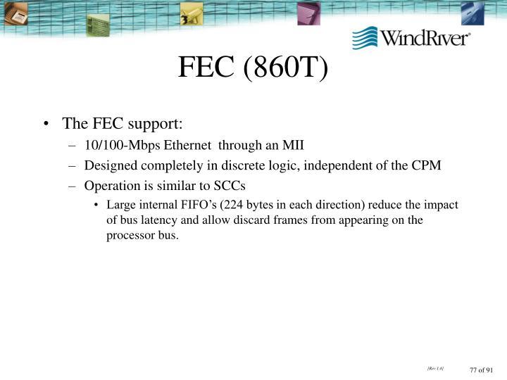 FEC (860T)