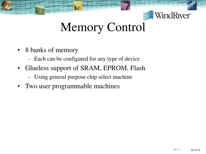 Memory Control