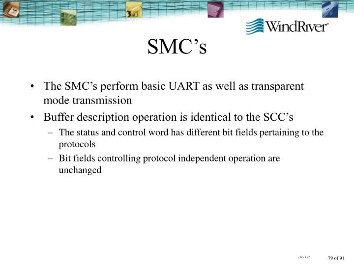 SMC's