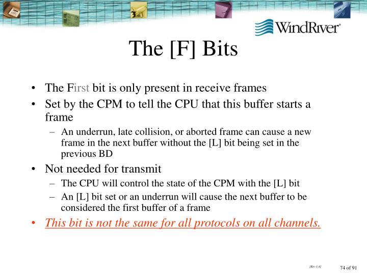 The [F] Bits