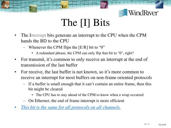 The [I] Bits