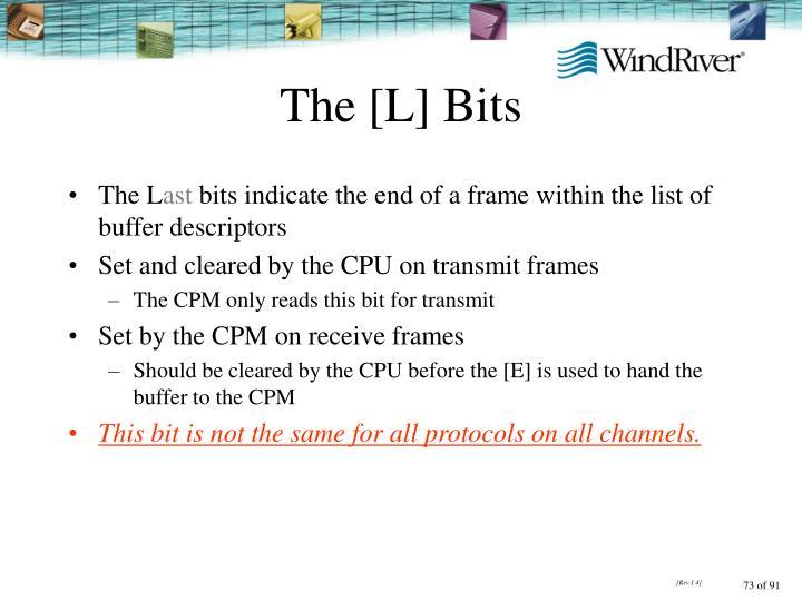 The [L] Bits