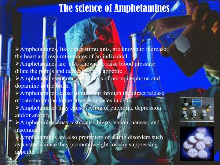The science of Amphetamines