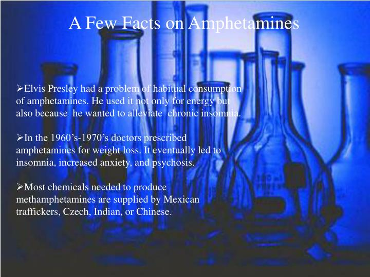 A Few Facts on Amphetamines