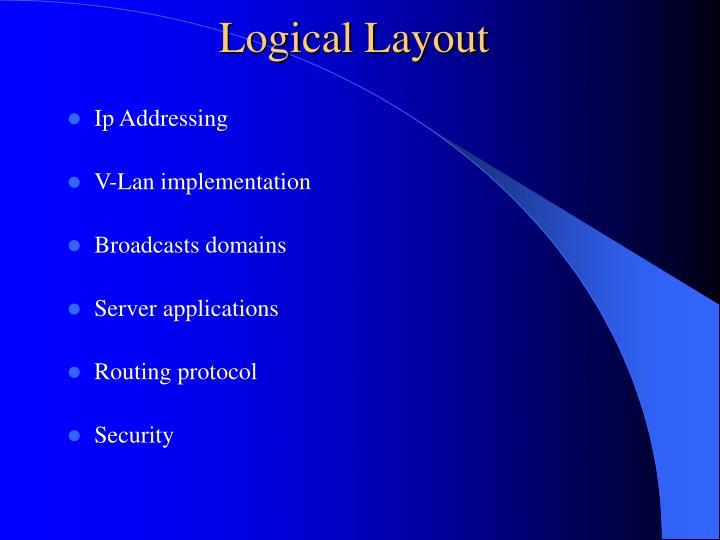 Logical Layout