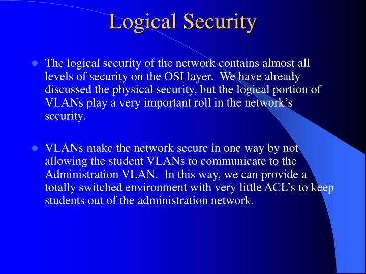 Logical Security