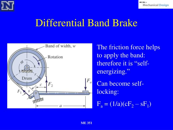 Differential Band Brake