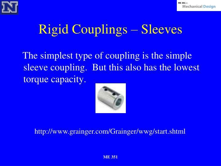 Rigid Couplings – Sleeves
