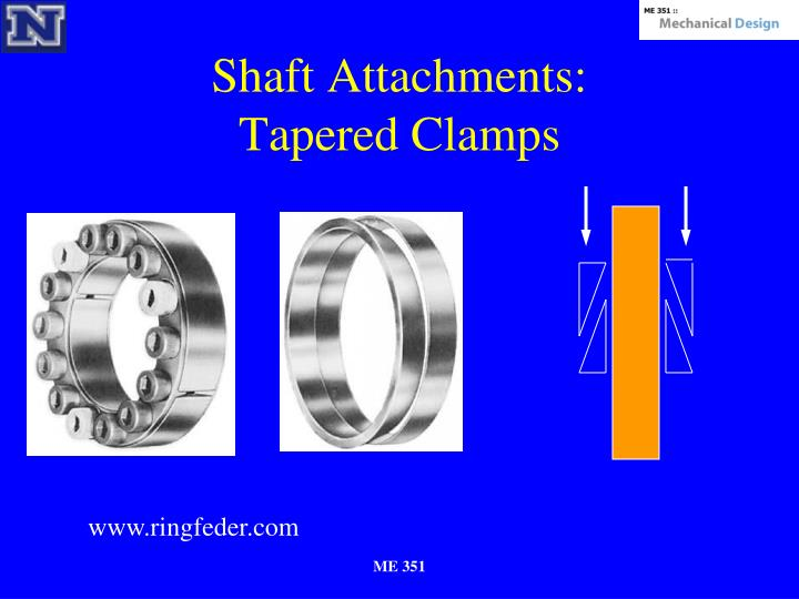 Shaft Attachments: