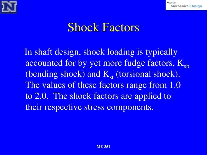 Shock Factors