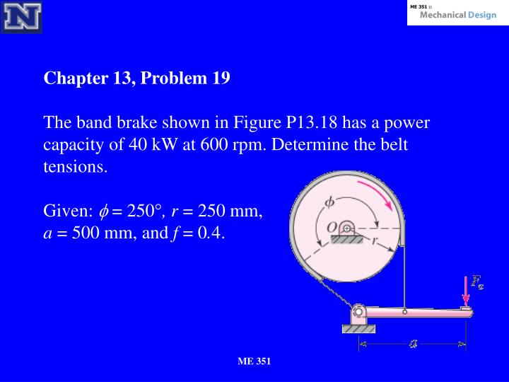 Chapter 13, Problem 19