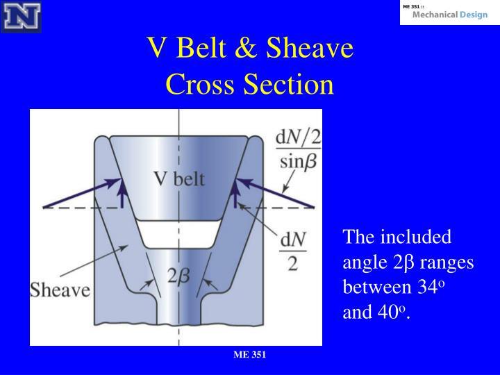 V Belt & Sheave