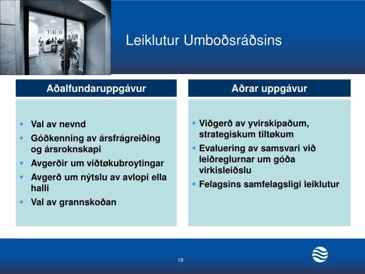 Leiklutur Umboðsráðsins