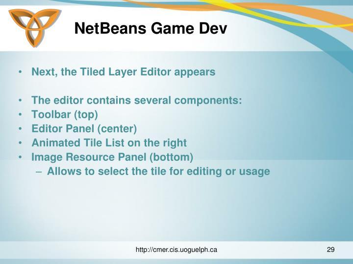 NetBeans Game Dev