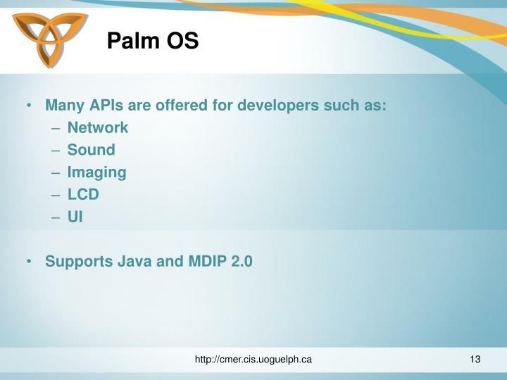 Palm OS