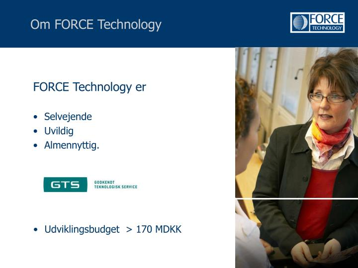 FORCE Technology er